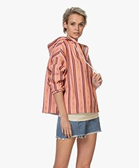 Closed Patty Woven Hooded Sweater - Camellia