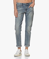 Denham Monroe Vegas Girlfriend Fit Jeans - Blauw