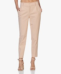 Drykorn Job Stretch Ponte Jersey Pants - Powder Pink