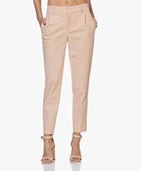 Drykorn Job Ponte Jersey Pantalon - Poederroze
