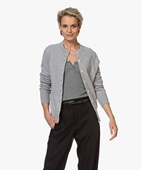 Extreme Cashmere N°99 Little Short Cardigan - Grey