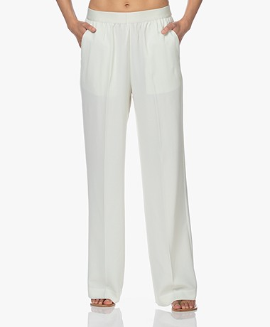 Closed Evelyn Loose-fit Broek - Pistachio