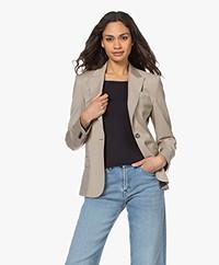 Filippa K Sasha Cool Wool Blazer - Desert Taupe