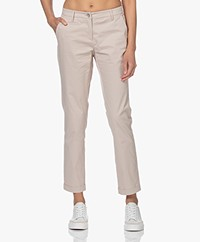 Repeat Stretch Cotton Pants - Beige