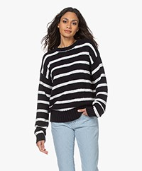 Josephine & Co Lesley Striped Sweater - Navy/White