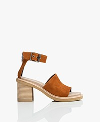 Rag & Bone Soren Suede Sandals with Heel - Cuoro