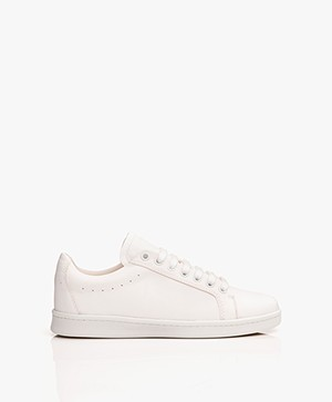 Filippa K Alice Leather Sneakers - White