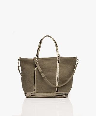 Vanessa Bruno Cabas Shoulder/Hand Bag - Khaki