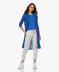 Kyra & Ko Agnes Lang Open Vest - Bright Blue