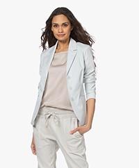 JapanTKY Naoko Cotton Twill Blazer - Grey