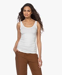 Kyra & Ko Rosine Basic Viscose Tanktop - Warm White