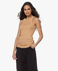 By Malene Birger Amiee Tank Top - Tan