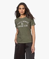 MKT Studio Tomica Organic Cotton Print T-shirt - Khaki