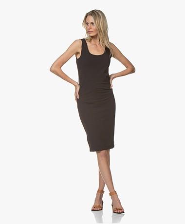 no man's land Viscose Jersey Dress - Dark Sapphire