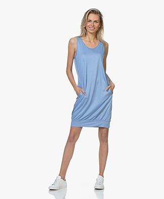 BRAEZ Sleeveless Jersey Dress - Bright Blue