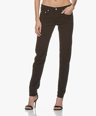 Rag & Bone Dre Slim-Fit Boyfriend Jean - Aged Black