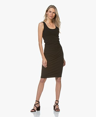 no man's land Viscose Jersey Dress - Core Black