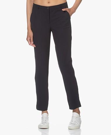 JapanTKY Sona Travel Jersey Pants - Blue Black