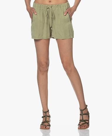 Josephine & Co Lotus Lyocell Shorts - Palmleaf