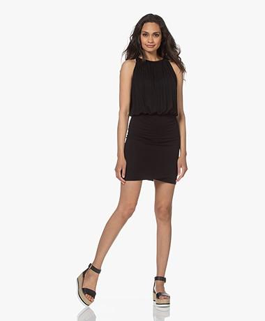 Majestic Filatures Superwashed Jersey Dress - Black