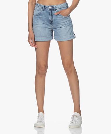 Drykorn Caba Denim Shorts - Blue