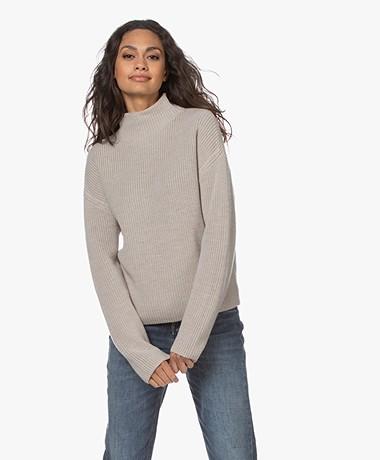 Filippa K Willow Merino Wool Sweater - Greige