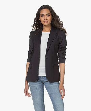 Filippa K Sasha Cool Wool Blazer - Navy