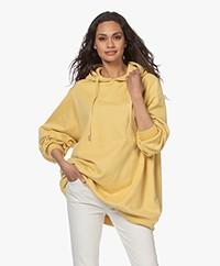 Ragdoll LA Super Oversized Hooded Sweater - Yellow