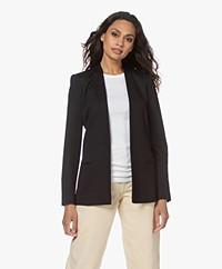 By Malene Birger Nivelle Tailored Open Blazer - Black