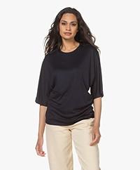 Filippa K Annabel Tencel Jersey T-shirt - Navy