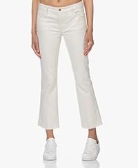 FRAME Le Cropped Mini Boot Stretch Jeans - Au Natural