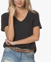 LDB Design By... Jersey V-neck T-shirt - Navy