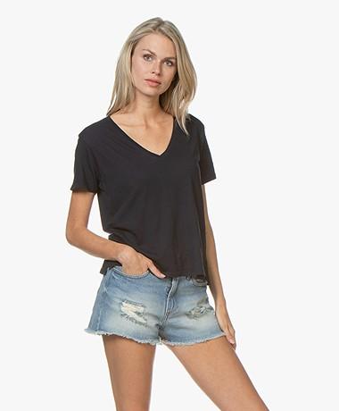LDB Design By... Jersey V-hals T-shirt - Navy