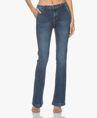 by-bar Leila Flared Jeans - Denim