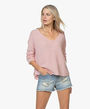 American Vintage Vapcloud Mohair Blend Sweater - Sweet