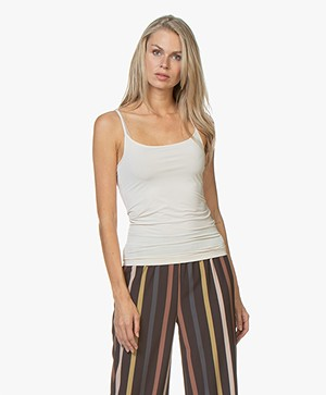 Filippa K Tech Slip Top - Bisque