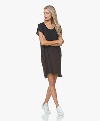 LDB Design By... Cotton Jersey T-shirt Dress - Navy