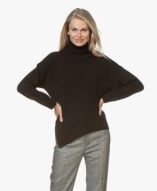 Vanessa Bruno Melanie Turtleneck Sweater with Cashmere - Zwart