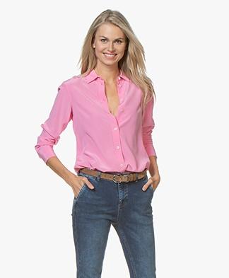 c214d540d7ad Filippa K Classic Silk Shirt - Waterlily