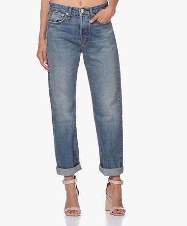 Rag & Bone Maya High-Rise Ankle Straight Jeans - West Thirteen