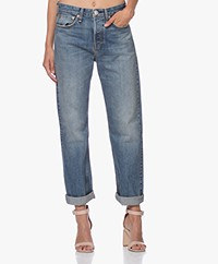Rag & Bone Maya High-Rise Ankle Straight Jeans - West Thirteen