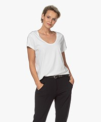 Denham Pacific Modalmix T-shirt - Off-white