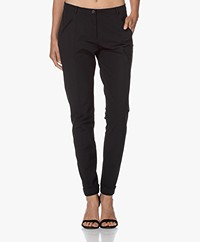 JapanTKY Leiko Slim-fit Jersey Pants - Black