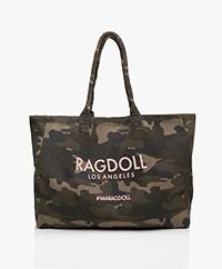 Ragdoll LA Holiday Canvas Tas - Camo Army