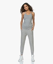 Filippa K Soft Sport Cotton Strap Tank - Grey Melange