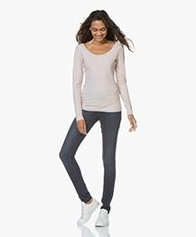 Denham Needle Sapp High Skinny Jeans - Blue
