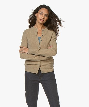 Extreme Cashmere N°99 Little Short Cardigan - Harris