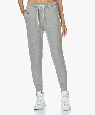 American Vintage Kinouba Sweatpants - Grey Melange