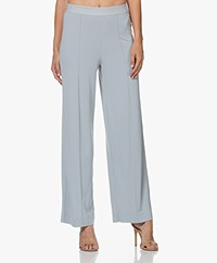 By Malene Birger Miela Crepe Jersey Pants - Silver