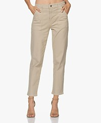 by-bar Smiley Cotton Twill Pants - Sand